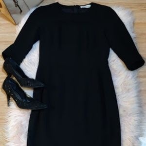 YSL Yves Saint Laurent Black Formal Dress Sz Sm/M